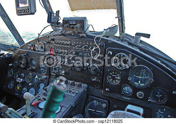 Archivi fotografici di cabina pilotaggio antonov aereo for Piani di cabina 32x32
