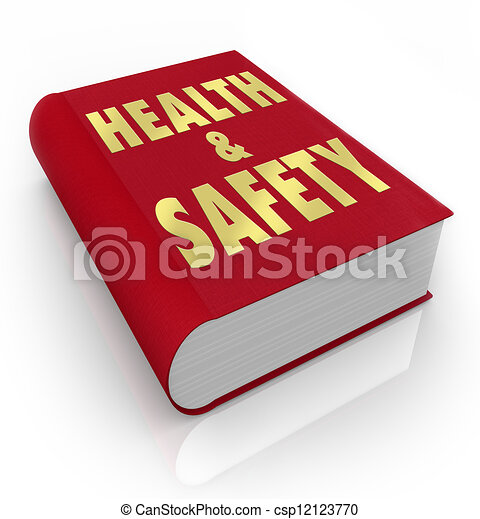 Stock Illustrations of Book of Health and Safety Rules ...