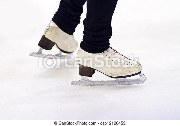ice skating  - csp12126453