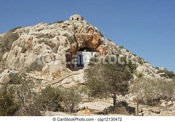 Cave church, Protaras, Cyprus       - csp12130472