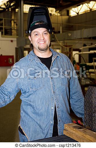 Metalworker In Factory - csp1213476