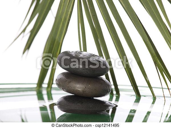 石, 禅 - csp12141495