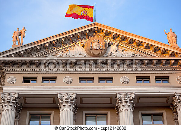 Gobierna Militar Builiding, Military Government Building, Barcel - csp12142882