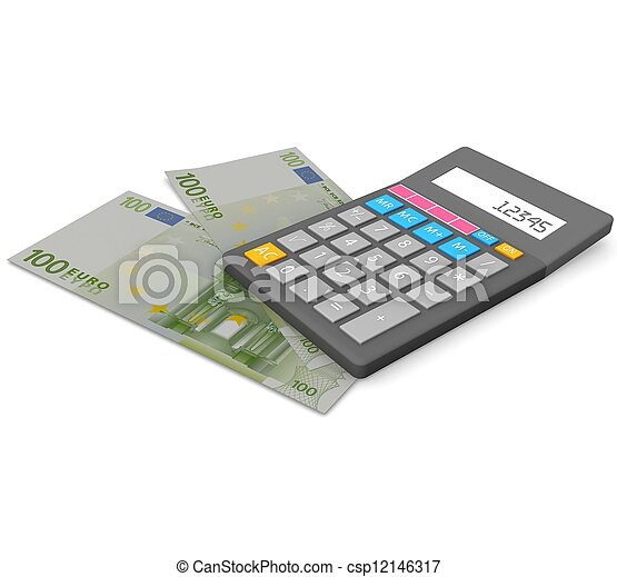 3d Accounting concept - csp12146317