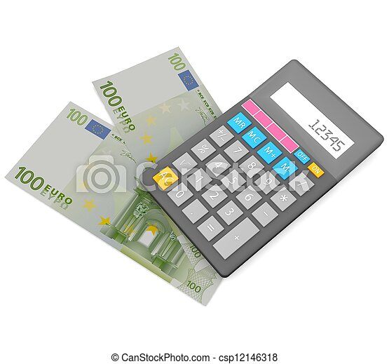 3d Accounting concept  - csp12146318