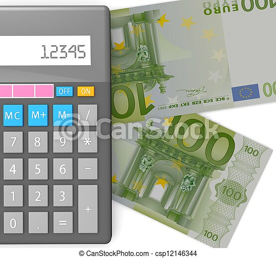 3d Accounting concept  - csp12146344