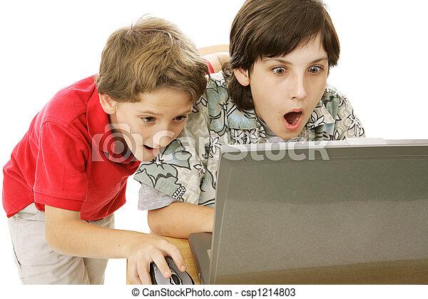 Shocking Internet Content - csp1214803