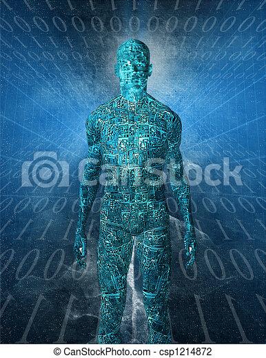 Tech Humanoid - csp1214872