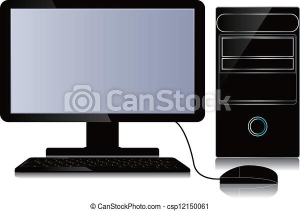 Desktop computer  - csp12150061