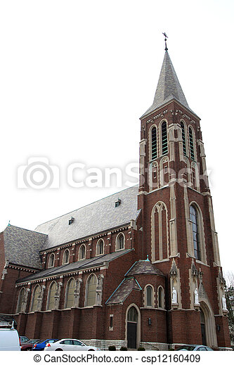 Historic church - csp12160409