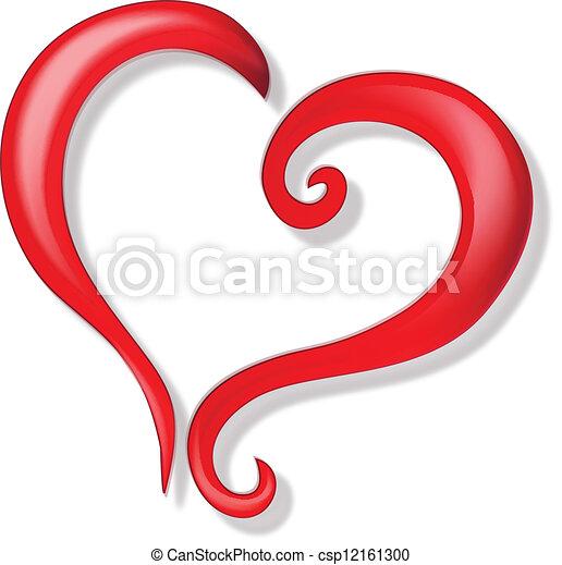 Clipart vecteur de logo vecteur amour coeur coeur de - Clipart amour ...