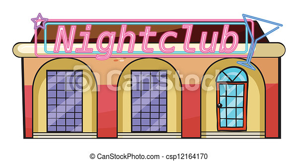 dibujos animados Club nocturno