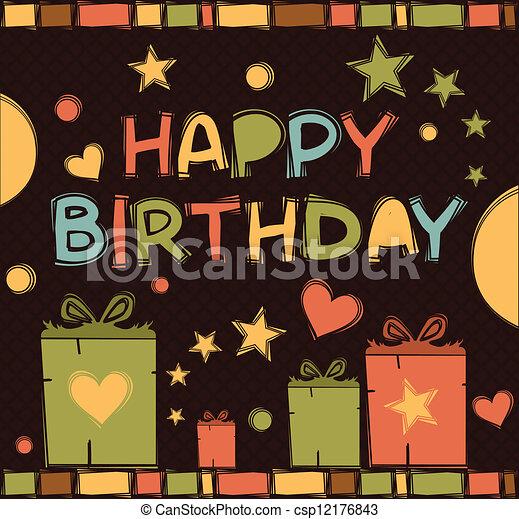 happy birthday - csp12176843