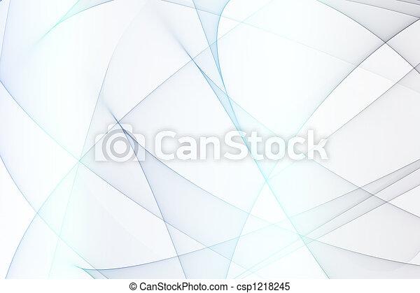 Blue Abstract Energy Arcs - csp1218245