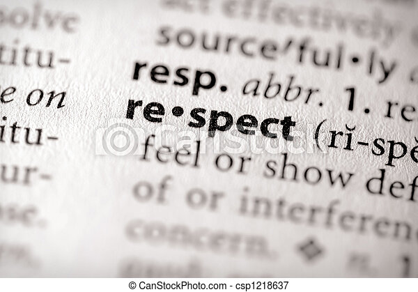 Respect - csp1218637