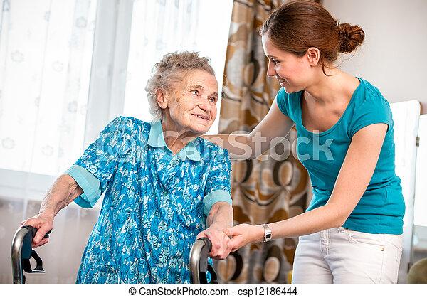 Home care - csp12186444