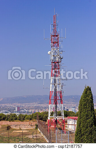 communication antenna - csp12187757
