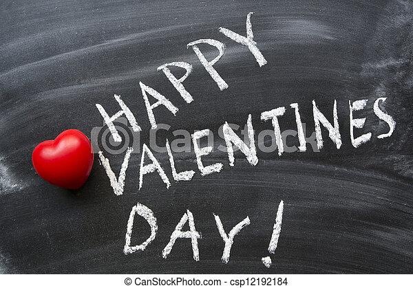 happy valentine's day - csp12192184