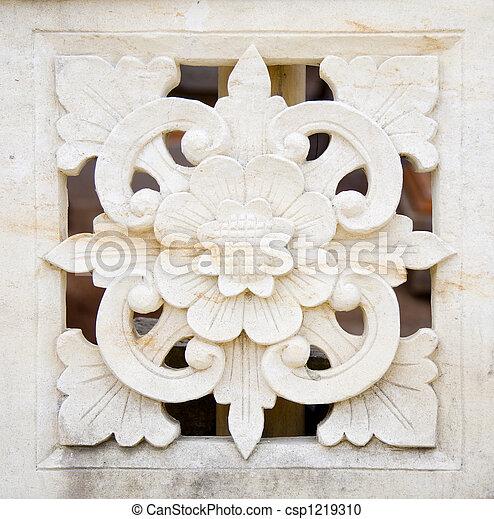 Bali stone carving - csp1219310