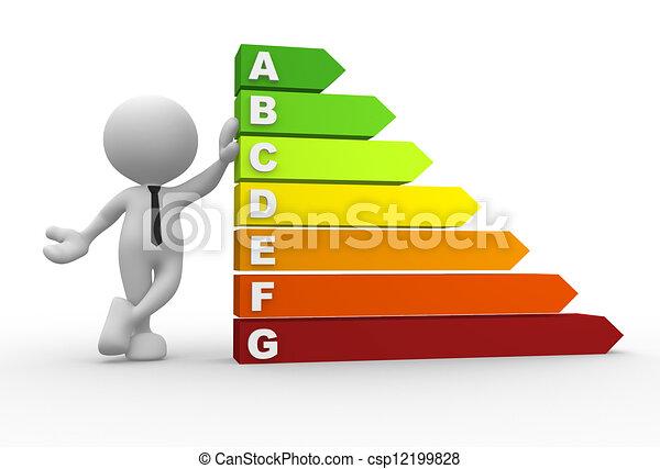 Energy chart - csp12199828