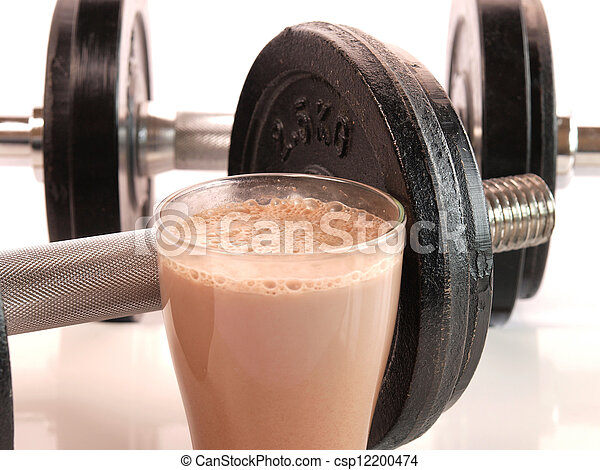 Fitness drink     - csp12200474