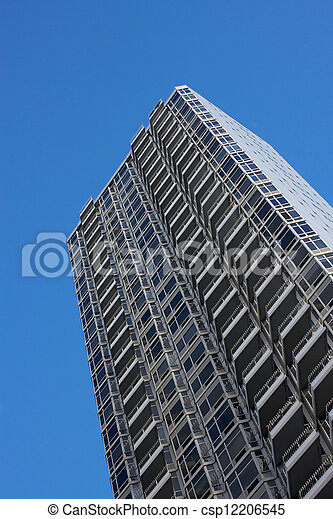 Generic Residential Tower in Midtown Manhattan - csp12206545