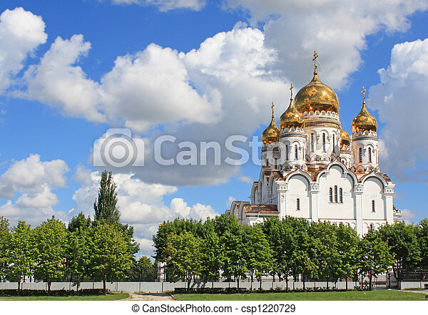 Russian orthodox church - csp1220729