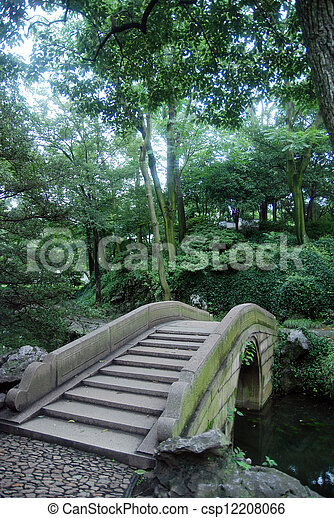 The ancient Chinese bridges - csp12208066