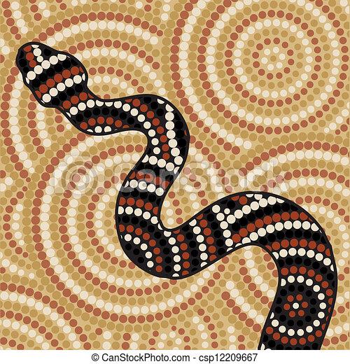 Aboriginal Art - csp12209667