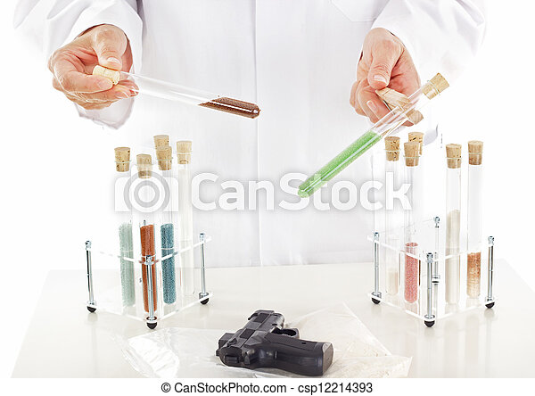 Pharmaceutical laboratory - csp12214393