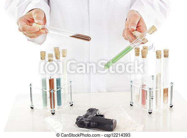 Pharmaceutical laboratory - csp12214393