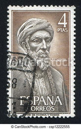 Moses ben Maimonides - csp12222555