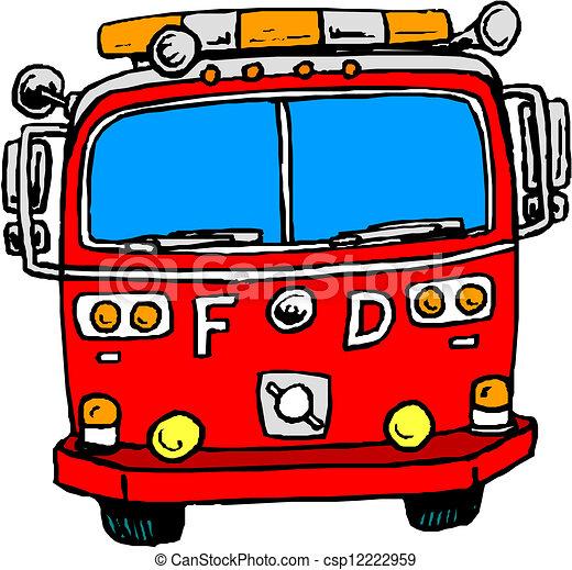Clip Art Firetruck Clip Art fire engine stock illustrations 3355 clip art images illustrationsby