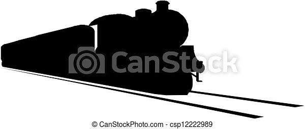 Steam locomotive - csp12222989