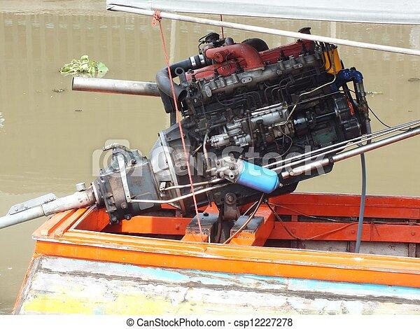 picture of engine car engine for boat in thailand. Black Bedroom Furniture Sets. Home Design Ideas