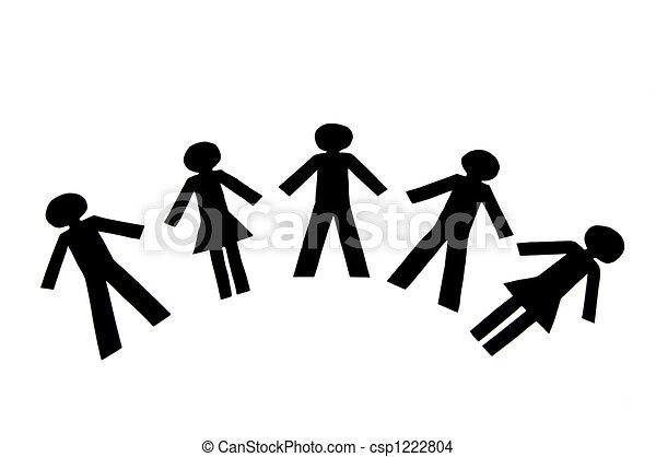 Teamwork People - csp1222804