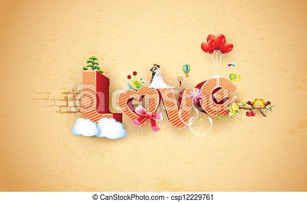 Happy Valentine's Day - csp12229761