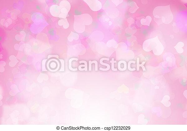 Valentine's day background - csp12232029