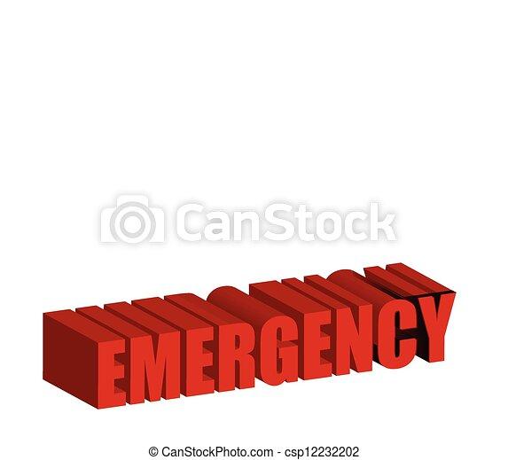 911 Emergency text - csp12232202