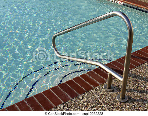photo de m tal rampe swiming piscine a image m tal. Black Bedroom Furniture Sets. Home Design Ideas