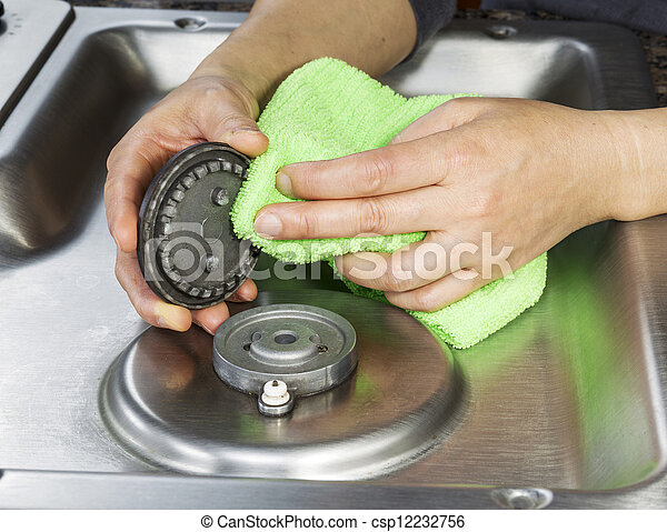 Gas Stove Top Clipart Cleaning Gas Stove Top