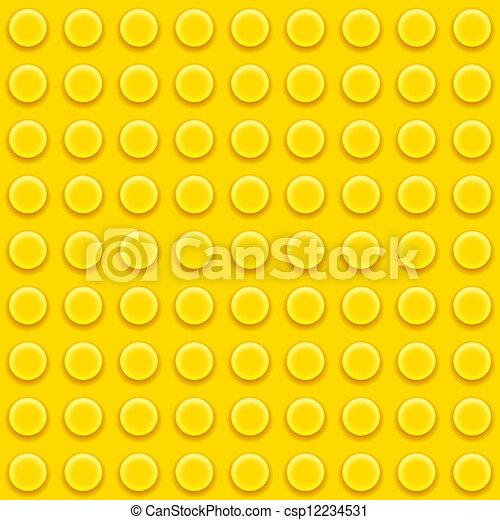 矢量, lego, 黄色, 块
