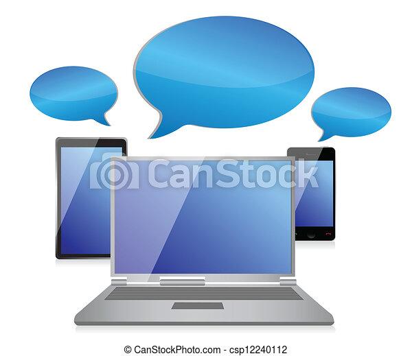 Sozial networking unterhaltung symbol begriff abbildung design