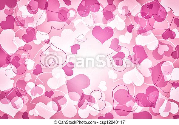 Valentines Day Card - csp12240117