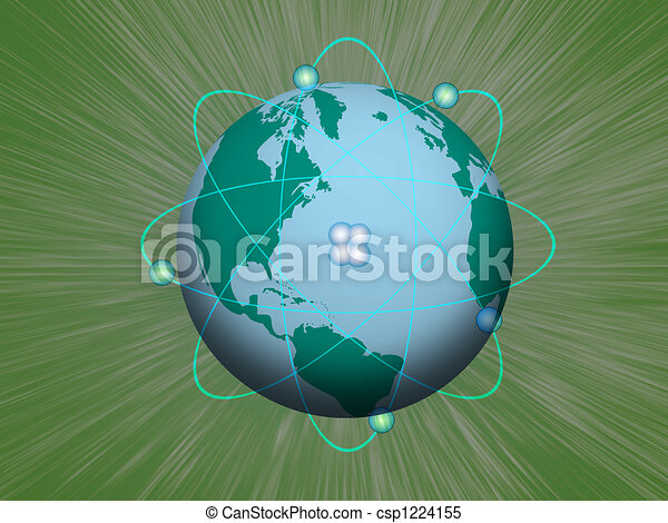 Nuclear Earth - csp1224155