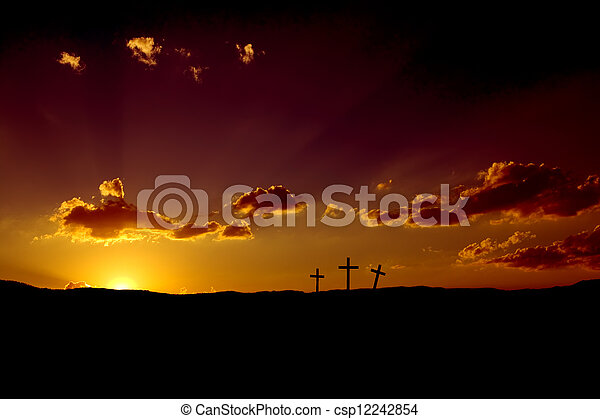Easter Sunrise - csp12242854