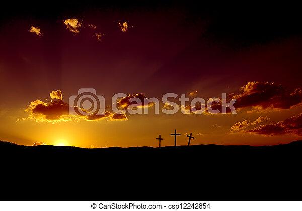 Easter Sunrise - csp12242854