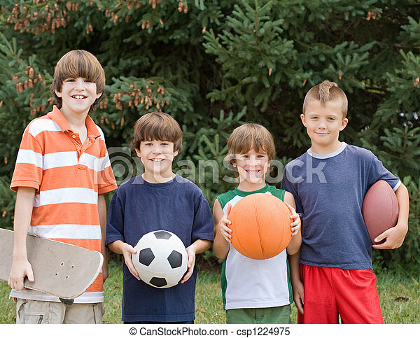 Four Different Sports - csp1224975