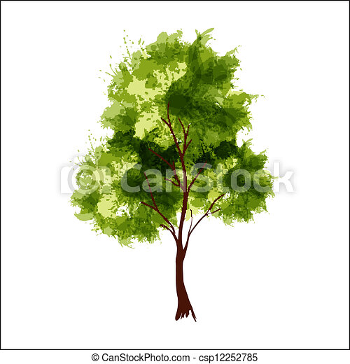 Summer tree - csp12252785