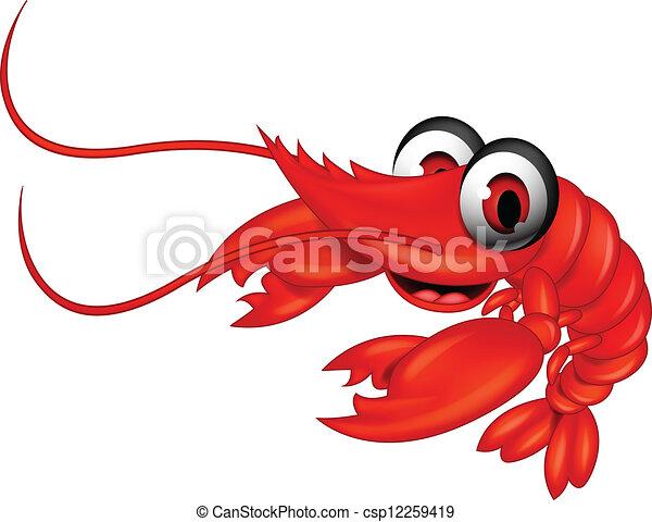 shrimp cartoon pictures